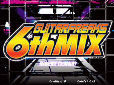 GuitarFreaks 6thMix [Model GCB17] screenshot