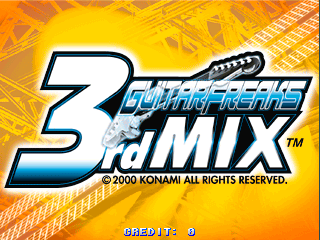 GuitarFreaks 3rdMix [Model GE949] screenshot