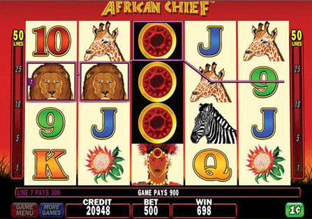 African Chief screenshot