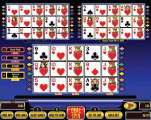 Triple Spin Poker screenshot