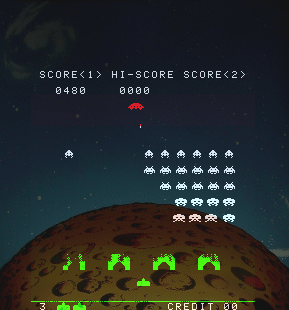 Space Invaders Part Four screenshot