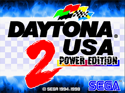 Daytona USA 2 - Power Edition screenshot