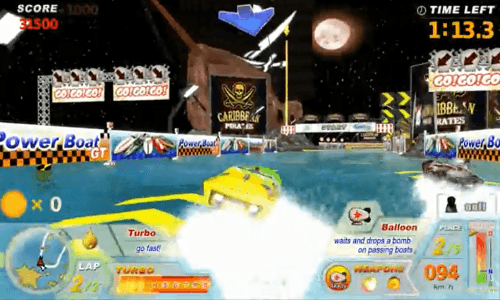 Power Boat GT [Model DX] screenshot
