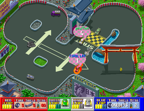 Rough Racer screenshot