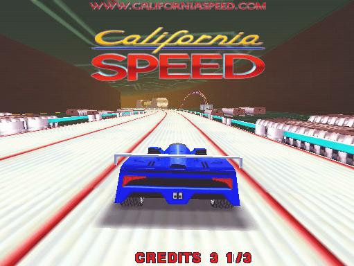 California Speed screenshot