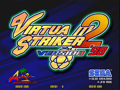 Virtua Striker 2 version
