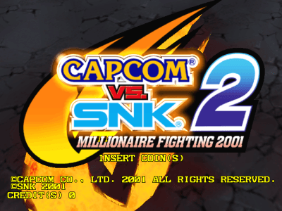 Capcom Vs. SNK 2 - Millionaire Fighting 2001 screenshot