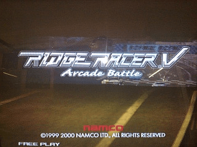 Ridge Racer V - Arcade Battle screenshot