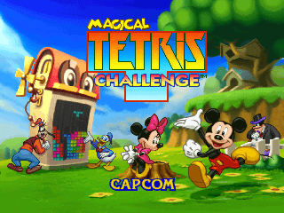 Magical Tetris Challenge screenshot