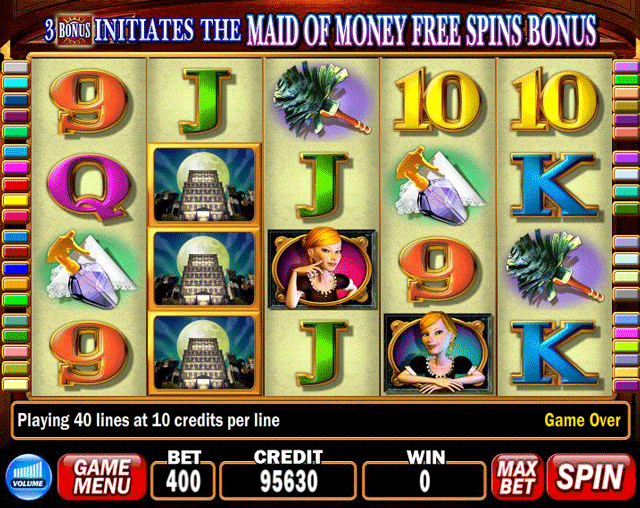 Maid Of Money Slot Machine By IGT 2008