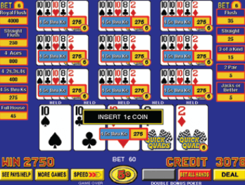 Quick Quads Poker screenshot