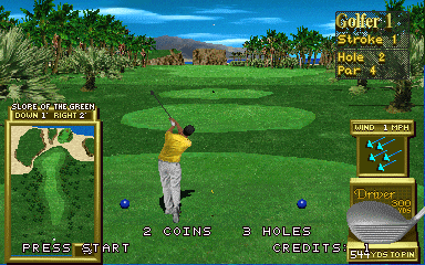 Golden Tee '97 arcade video game by Incredible Technologies, Inc  (1997)