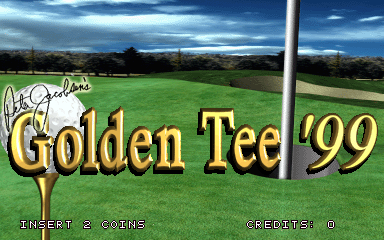 Golden Tee '99 screenshot