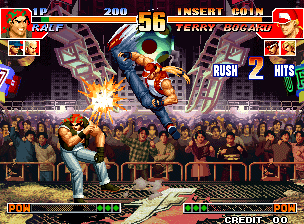 The King of Fighters '97 Plus screenshot