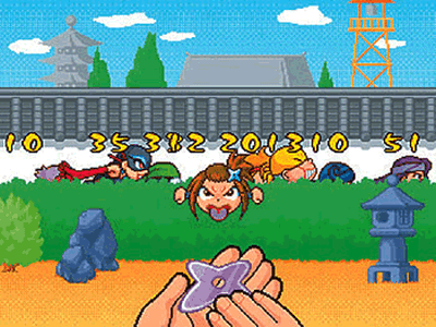 Ninniki Ninja Battle screenshot