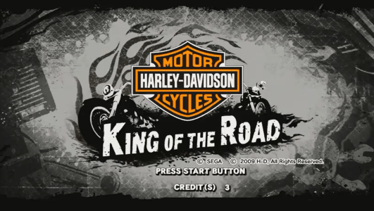 Harley-Davidson Motor Cycles - King of the Road screenshot