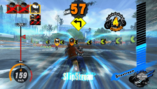 harley-davidson motor cycles: king of the road arcade pcbsega