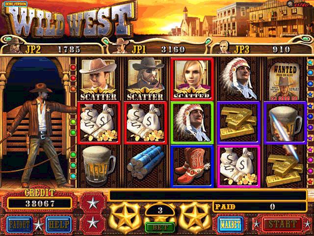 wild west slots games