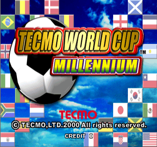 Tecmo World Cup Millenium screenshot