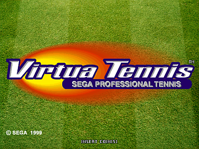 Virtua Tennis - Sega Professional Tennis [Model 840-0015C] screenshot