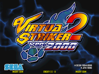 Virtua Striker 2 ver. 2000 screenshot
