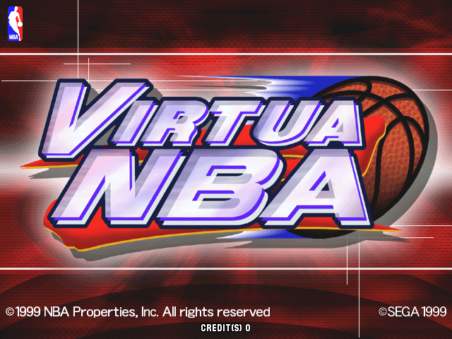 Virtua NBA screenshot