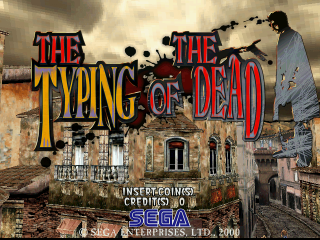 The Typing of the Dead [Model 840-0026C] screenshot