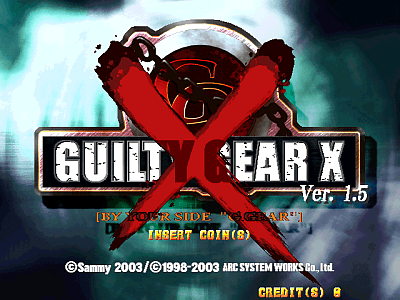 Guilty Gear X Version 1.5 screenshot