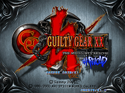 Guilty Gear XX #Reload [Model GDL-0019] screenshot