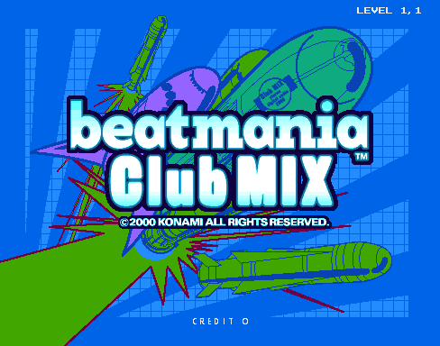 beatmania ClubMix screenshot