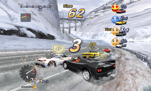 Out Run 2 SP - Special Tours screenshot