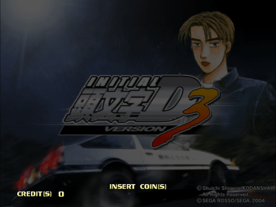 Initial D Arcade Stage Ver. 3 [GDS-0032B] screenshot