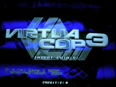 Virtua Cop 3 screenshot