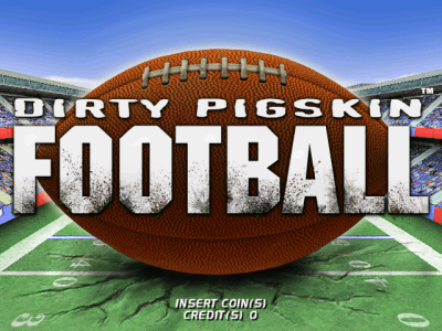 Dirty Pigskin Football screenshot