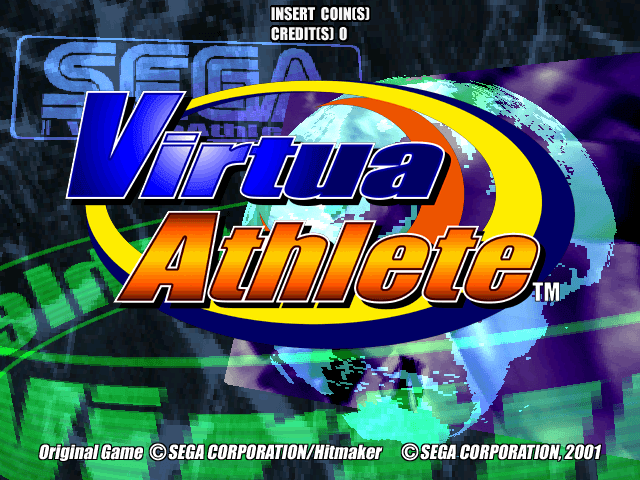 Virtua Athlete screenshot