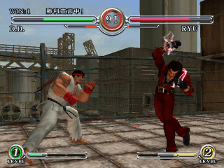 Capcom Fighting All Stars screenshot