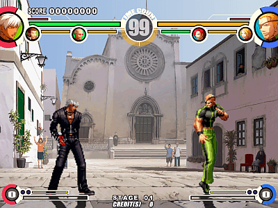The King of Fighters XI arcade video game by SNK Playmore (2005)