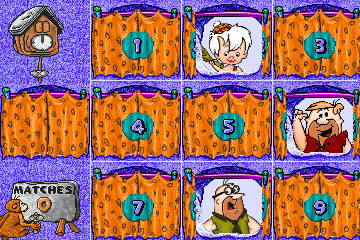 Fred Flintstone's Memory Match screenshot