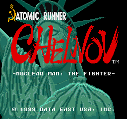 Atomic Runner Chelnov - Nuclear Man, The Fighter [Model 1US35K] screenshot