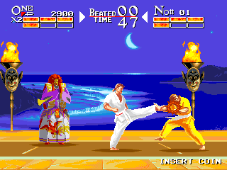 Chatan Yarakuu Shanku - The Karate Tournament screenshot