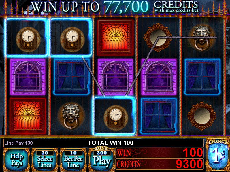 slot machine gratis haunted house
