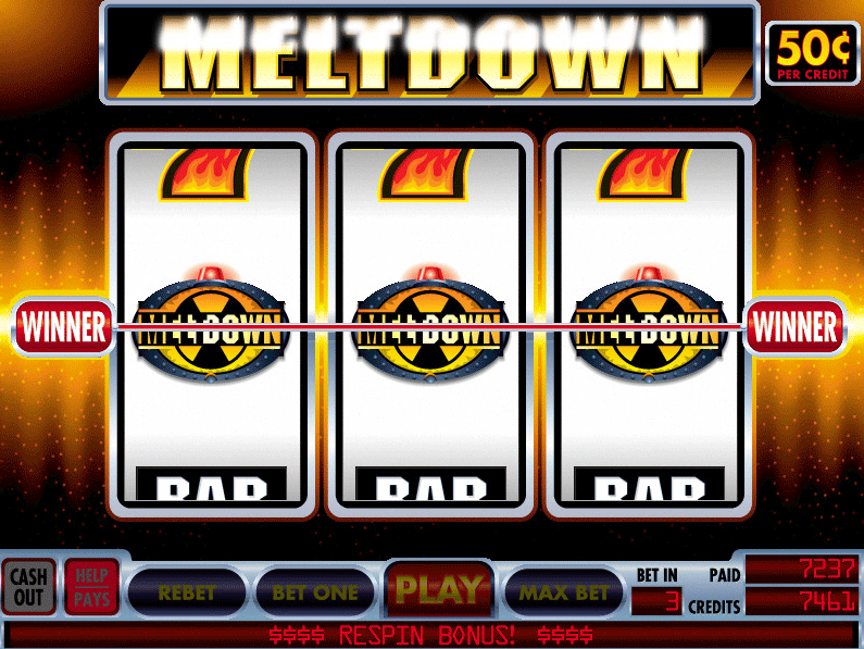 Meltdown slot machine online