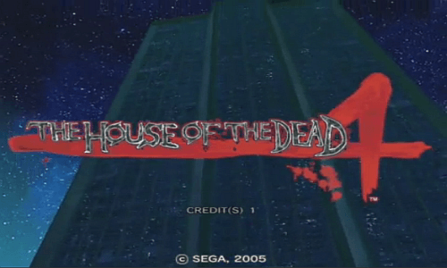 The House of the Dead 4 screenshot