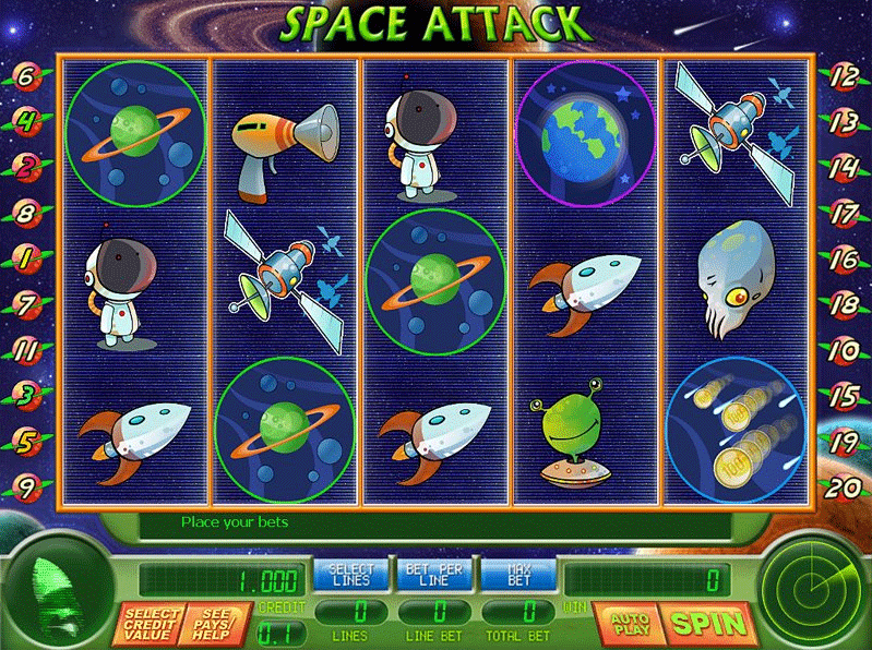 Space Attack [New Ver.] screenshot