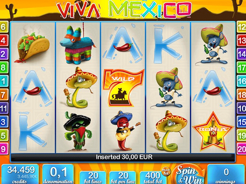 Viva Mexico screenshot