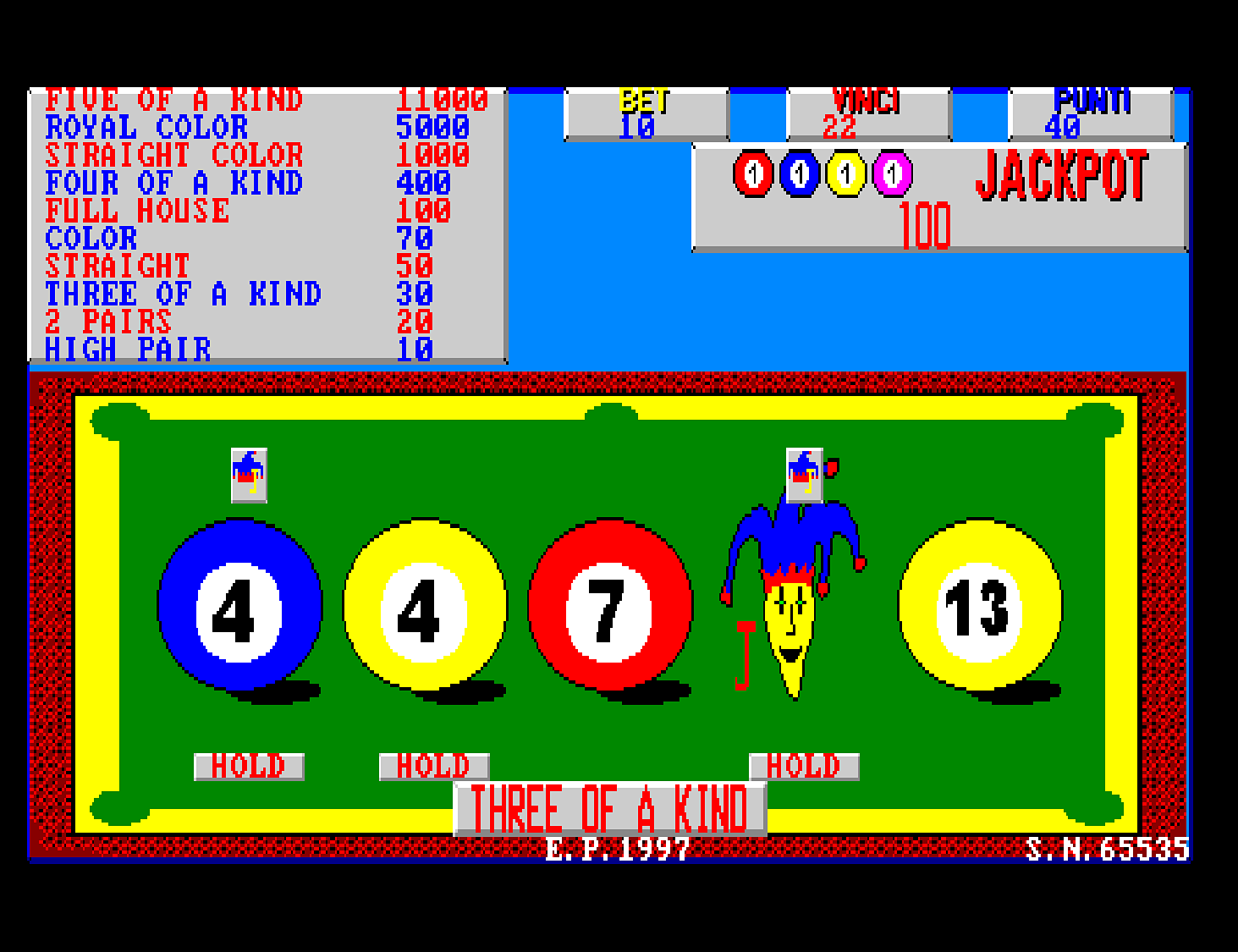 Jackpot Pool screenshot