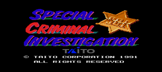 S.C.I. - Special Criminal Investigation [Model 58] screenshot