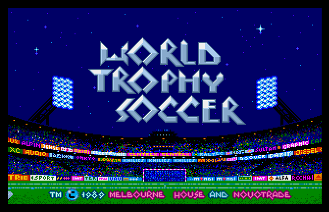 World Trophy Soccer screenshot