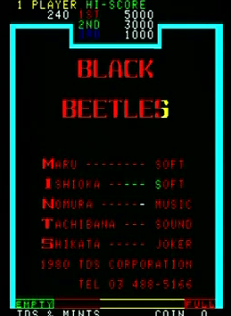 Black Beetles screenshot