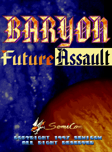 Baryon - Future Assault screenshot
